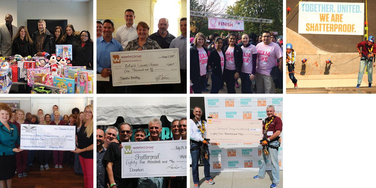 philanthropy checks